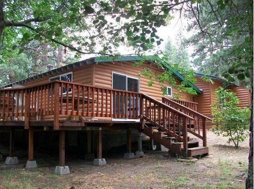 Timbermill Siding Home Done In American Cedar Log Profile Vinyl Log Siding Log Siding Log Cabin Siding