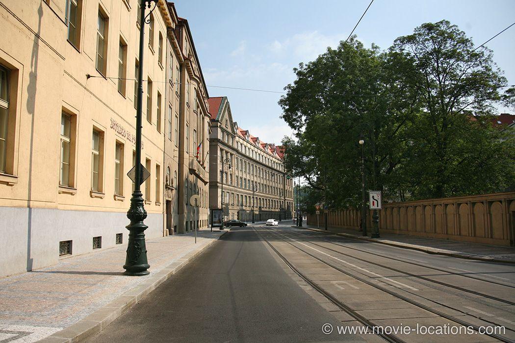 The Bourne Identity Film Location 2002 Listopadu Prague Czechrepublic Prague Was Used To Stand In Filming Locations Movie Locations The Bourne Identity