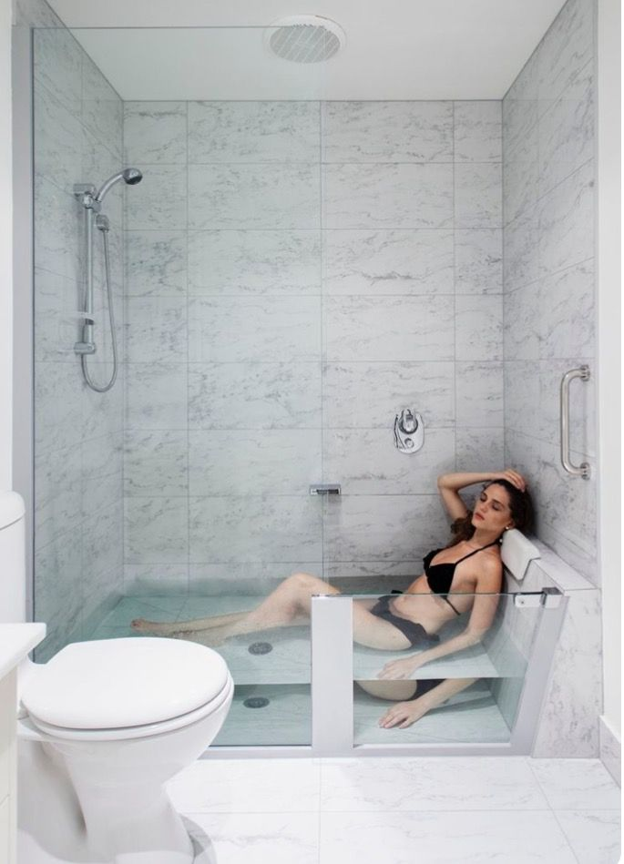 Master Bathroom Dream House Pinterest Master bathrooms and House - Bathroom Glass