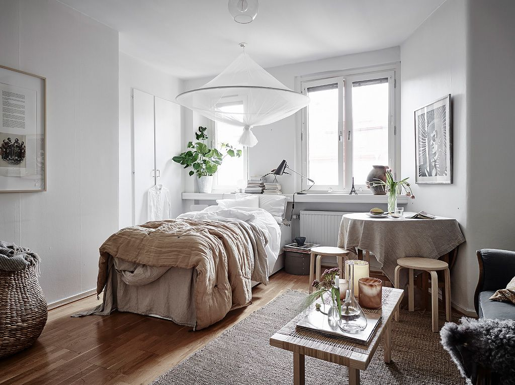 A Swedish Studio Apartment For One