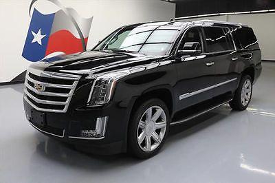 2016 Cadillac Escalade Luxury Sport Utility 4-Door 2016 CADILLAC ESCALADE LUX 4X4 SUNROOF NAV HUD 22'S 18K #347156 Texas Direct