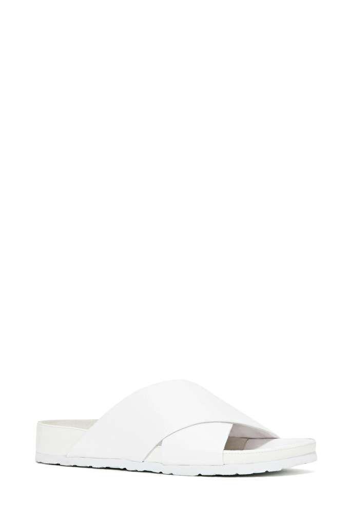 Jeffrey Campbell Menorca Sandals - White