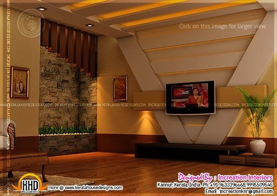 Kerala Home Design And Floor Plans: House Interior Design, Kannur, Kerala