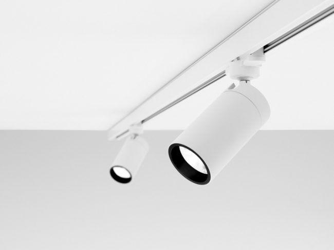 Günstige Wohnzimmerlampen ~ Kabellose lampen schiene verstellbar praktisch design idee möbel