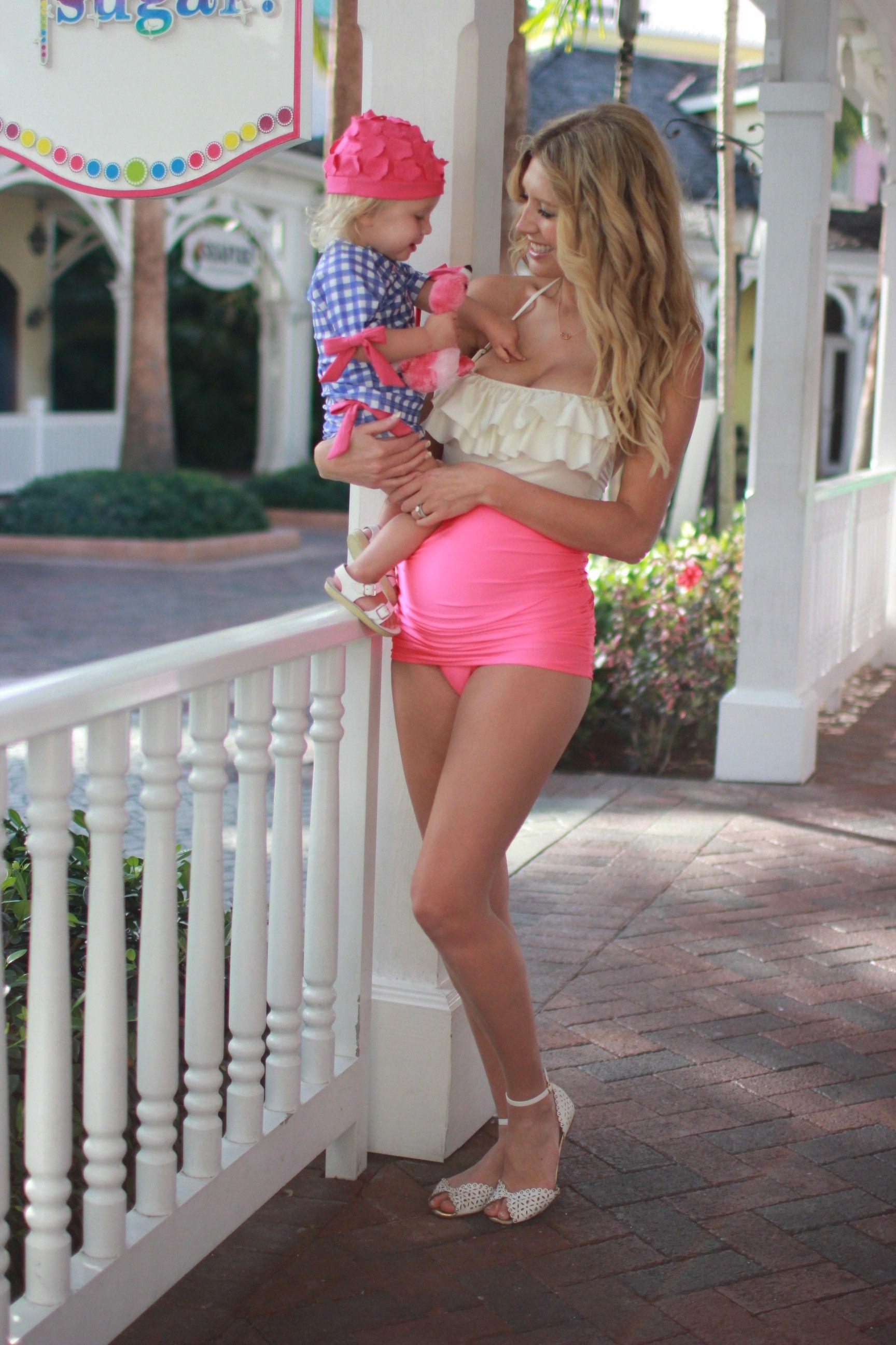 8edd9e13d0685 Maternity swim #swimzip #albionfit #birdalamode | Swimsuit ...