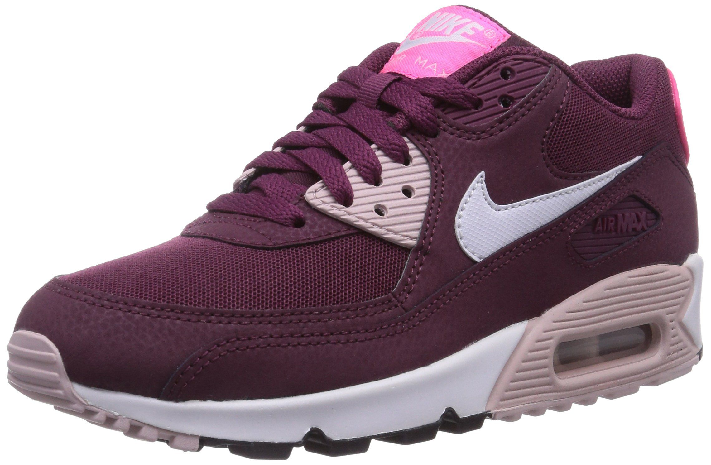 Nike Air Max 90 Essential, Damen Sneakers, Rot (Villain Red