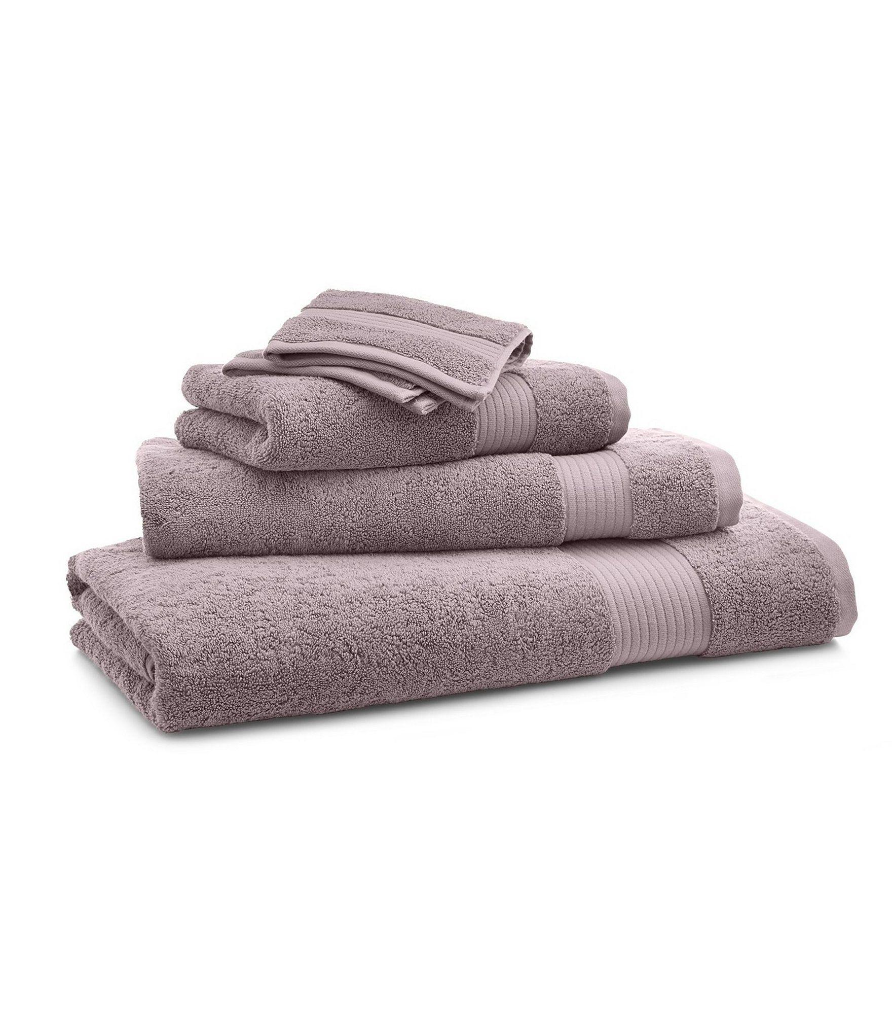 Ralph Lauren Bowery Bath Towels Dusty Lilac Washcloth In 2020