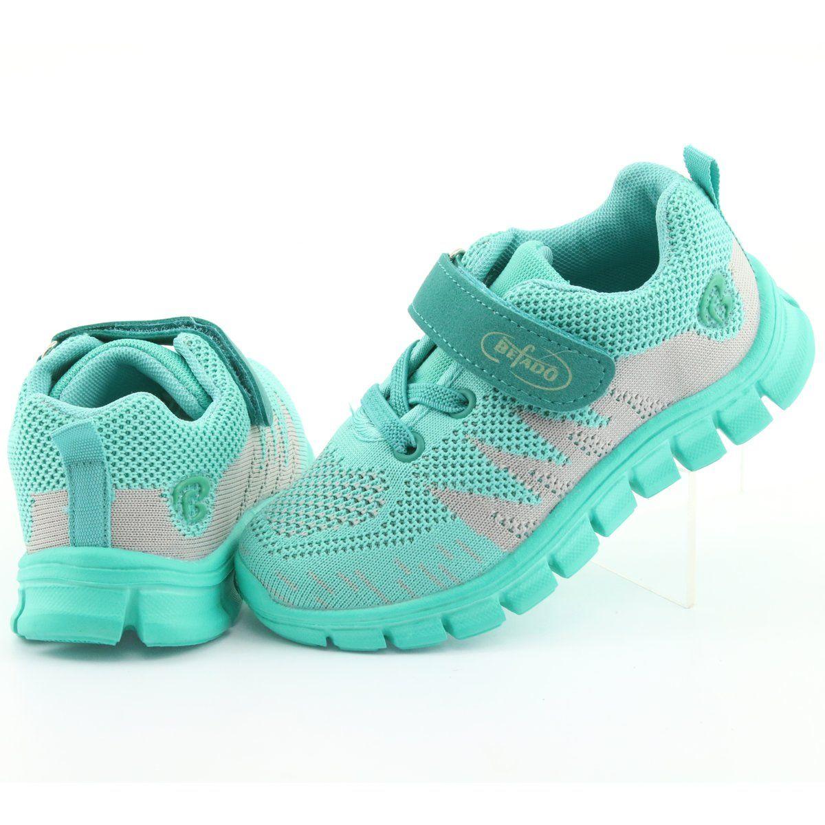 Befado Obuwie Dzieciece Do 23 Cm 516x026 Zielone Baby Shoes Footwear Sketchers Sneakers