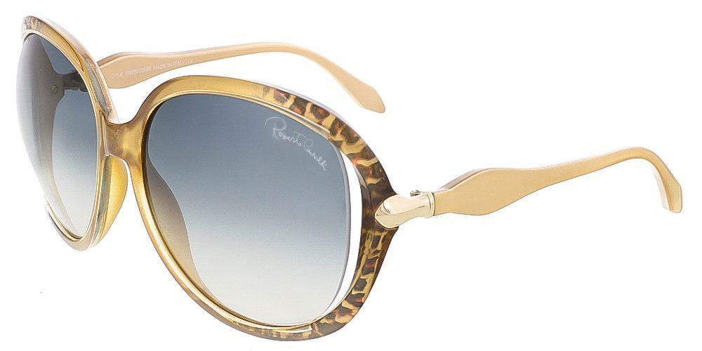 d7f9931fbd699 Roberto Cavalli RC732S S 33B BANYAN Beige Oversized sunglasses ...