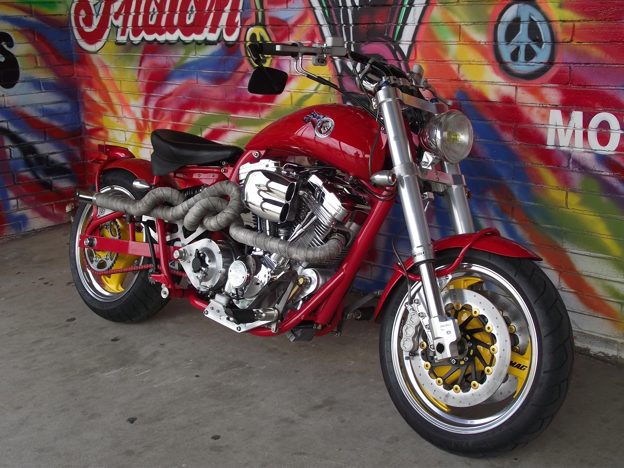 2000 Confederate HELLCAT at Strokers Dallas Motorcycle