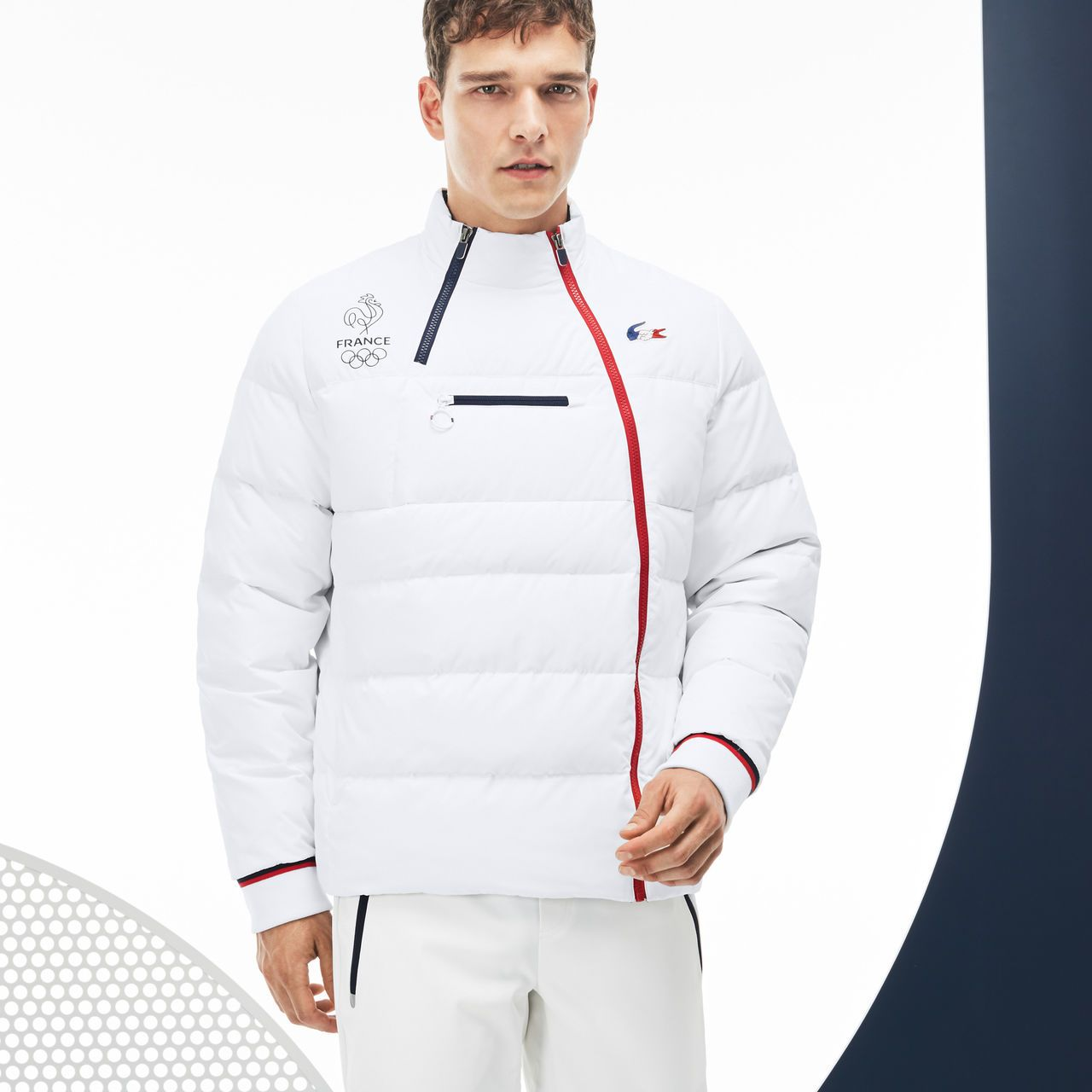 Tww0ysfq Lacoste Collection France Ski Sport Olympique Doudoune tPxw8qYP