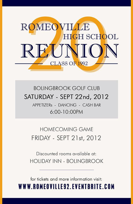 Class Reunion Invitations Google Search Reunion Marketing