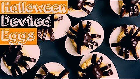 Halloween Deviled Eggs Recipe + BEST Deviled Eggs #halloweendeviledeggs A Halloween deviled eggs recipe topped with spiders, and my recipe for the BEST deviled eggs you will ever eat. A great spooky treat for a Halloween party! #halloweendeviledeggs Halloween Deviled Eggs Recipe + BEST Deviled Eggs #halloweendeviledeggs A Halloween deviled eggs recipe topped with spiders, and my recipe for the BEST deviled eggs you will ever eat. A great spooky treat for a Halloween party! #halloweendeviledeggs #deviledeggs