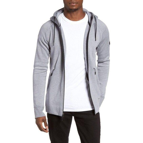 4727e8c27387 Men s Nike Jordan Icon Fleece Zip Hoodie (632.805 IDR) ❤ liked on Polyvore  featuring