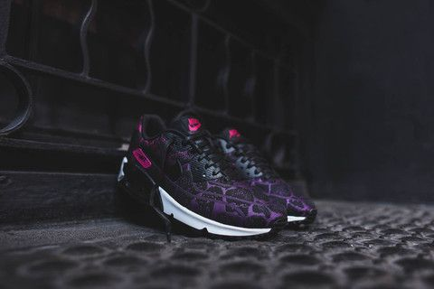 new concept 37a1e d768e clearance womens shoes mulberry purple dusk white nike jacquard air max 90  . be63d 7a764  sweden nike wmns air max 90 jcrd mulberry fuchsia kith nyc  9284f ...