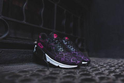 Nike Wmns Air Max 90 Jcrd - Mûrier / Rose Fuchsia