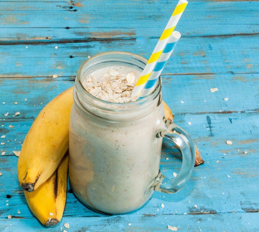 10 recetas de batidos de avena para bajar de peso y mejorar la salud