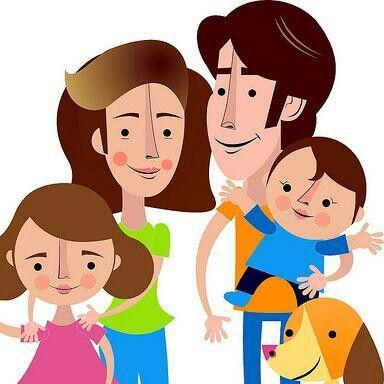 La Familia Unida Jamas Sera Vencida Familia Feliz Dibujo Familia Familia Feliz