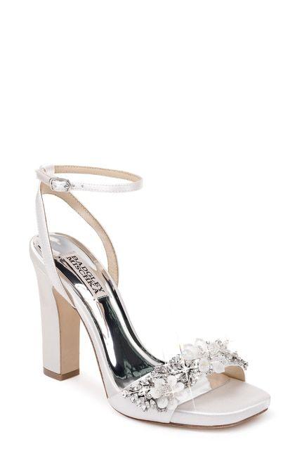 Alexa Embellished Block Heel in 2019 | Sparkly wedding shoes