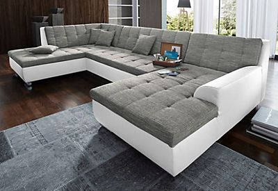 Domo collection wohnlandschaft h cool comfy couches for Wohnlandschaft bequem