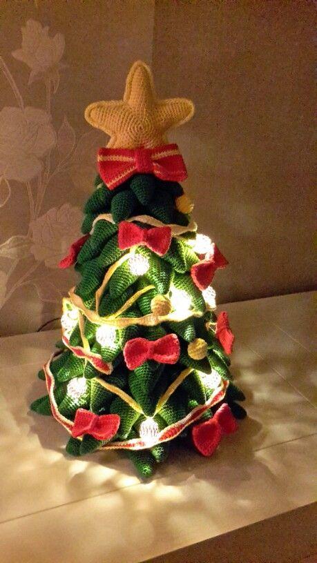 Kerstboom Van Mala Design Haken Bloemen En Planten