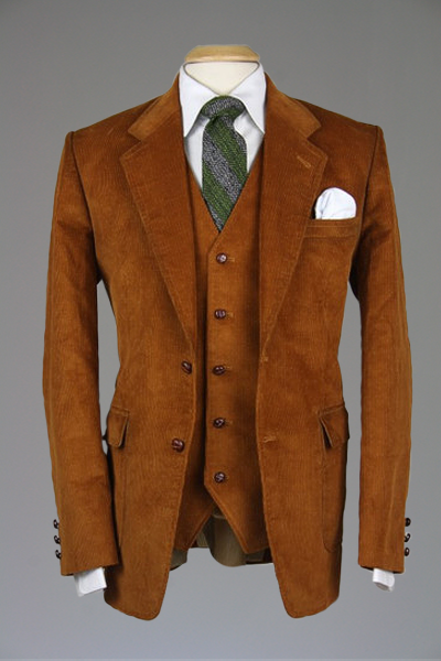 Cordifornia Handmade Slim Fit 3 Piece Suit RUST All Sizes Monkey Suits from  ModLines, perfect