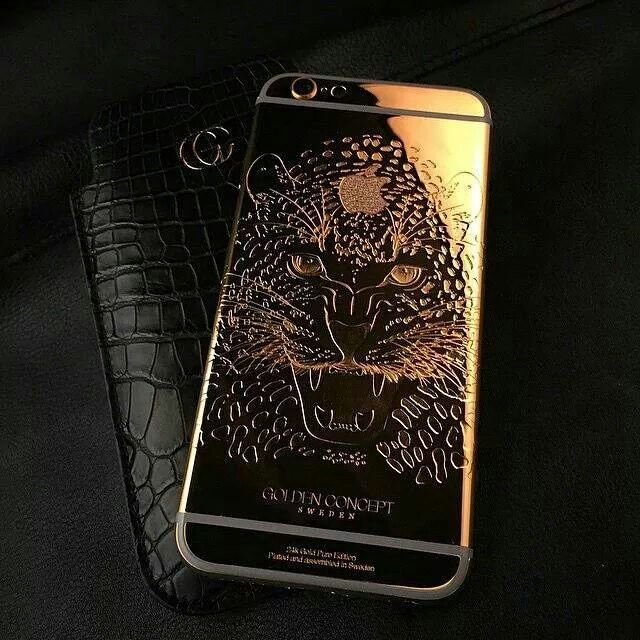 quality design 0f226 8d66b repost from @thisisamans.world @goldenconcept 24k Gold iPhone 6 ...