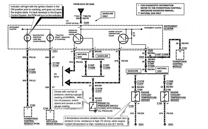 10  1999 Mercury Grand Marquis Engine Wiring Diagram