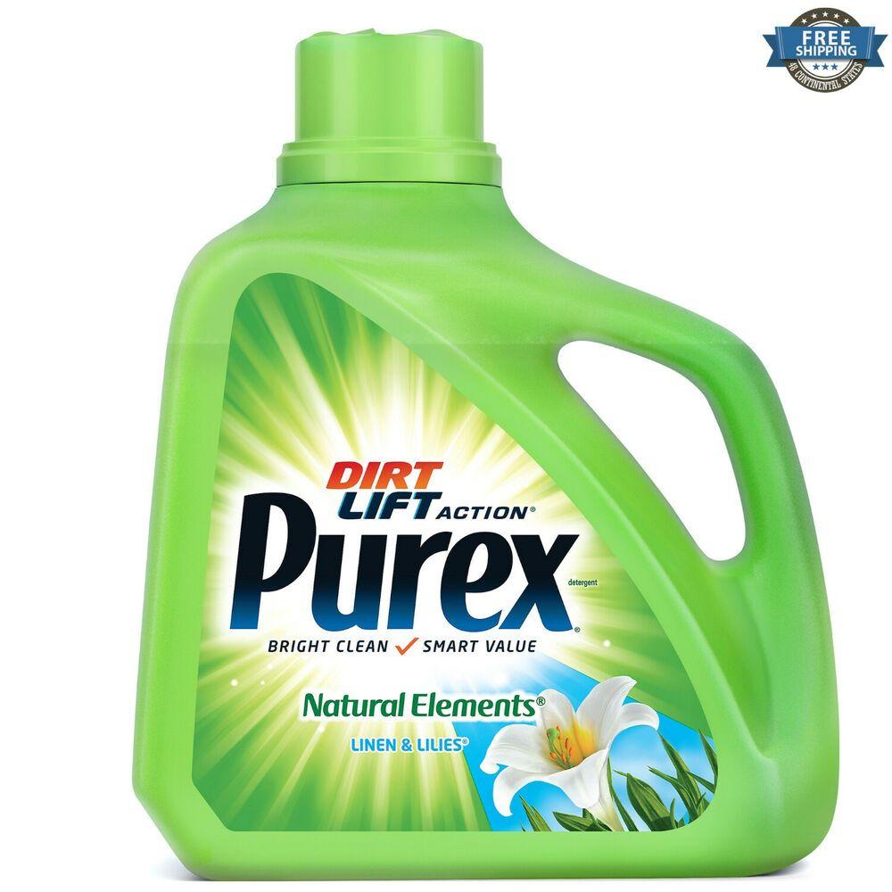 150 Fl Oz Liquid Laundry Detergent Linen Lilies 100 Loads Hypoallergenic Purex Pu In 2020 Hypoallergenic Laundry Detergent Lavender Laundry Detergent Laundry