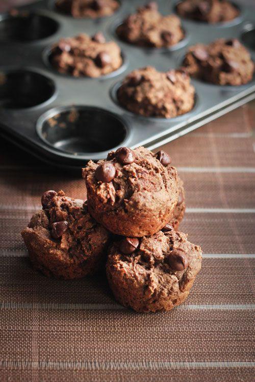 Fruity Chocolate Breakfast Muffins - I'm making these tonight!