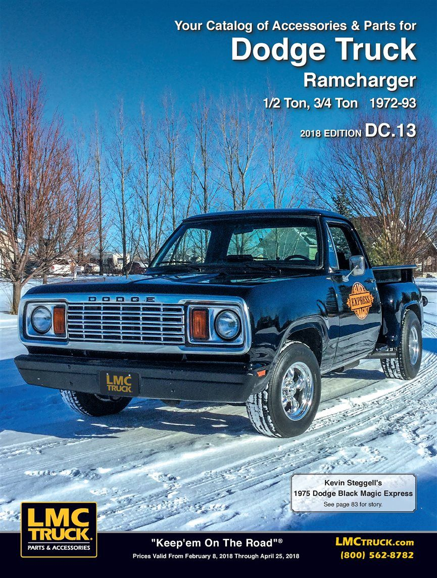 Black Magic on cover of LMC truck | Dodge trucks | Dodge