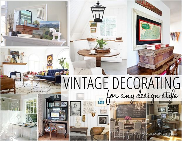 Delicieux Decorating Ideas: Vintage Decorating
