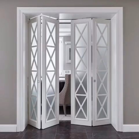 Dverknizhka Interere Mezhkomnatnaya Skladnaya So Steklom In 2020 Pooja Room Door Design Room Door Design Home Room Design