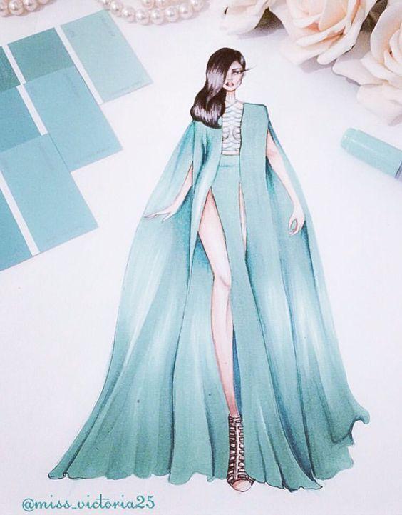 Pingl par sabeauty sur design clothes pinterest - Dessin de couture ...