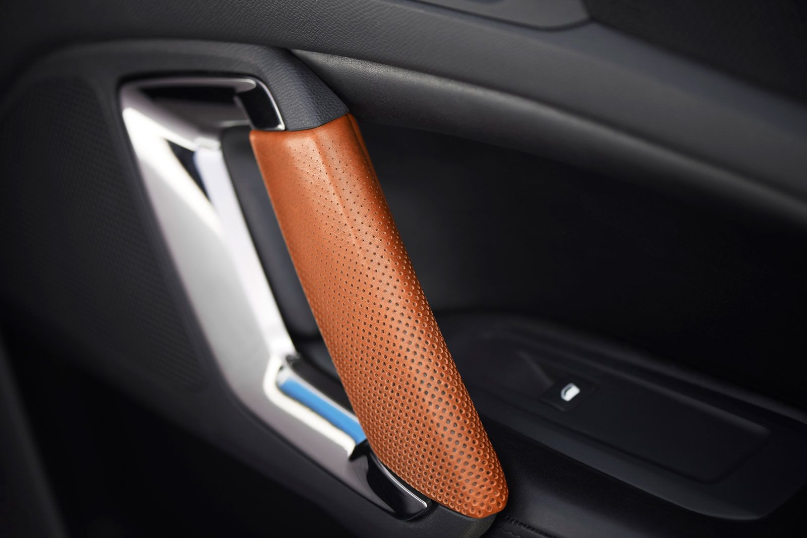 Peugeot 308 R Hybrid Concept Interior Door Panel Detail