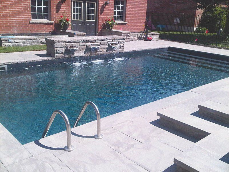 Installed By Megna Pool In Toronto This Classic