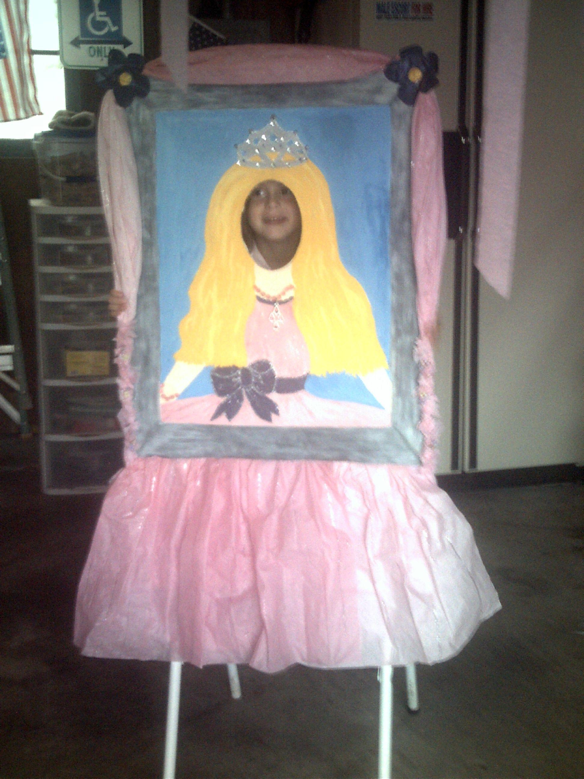 Photo:Face Princess cutout..