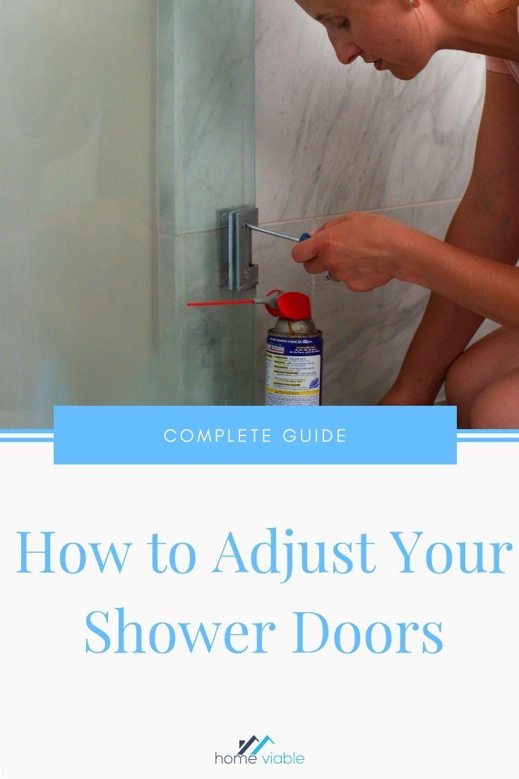 How to Adjust Your Shower Doors and Door Tracks Shower
