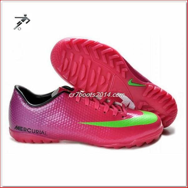 best service 56bfe f8df3 Football Boots Suitable For Wide Feet Nike Mercurial Victory IV Cr7 Mens  Astro Turf Trainers Futsal Red Green Purple