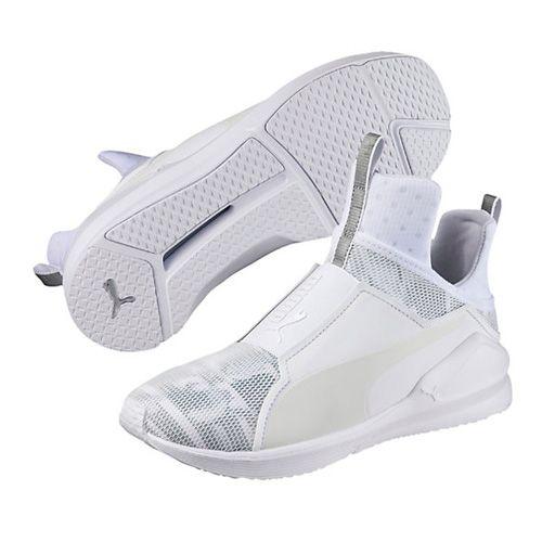 33ed01478edd Puma White Fierce Swan Women s Training Shoes via  bestchicfashion