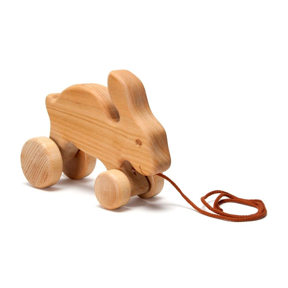 Admirable Hopping Bunny Pull Toy Novanatural Baby And Children Theyellowbook Wood Chair Design Ideas Theyellowbookinfo