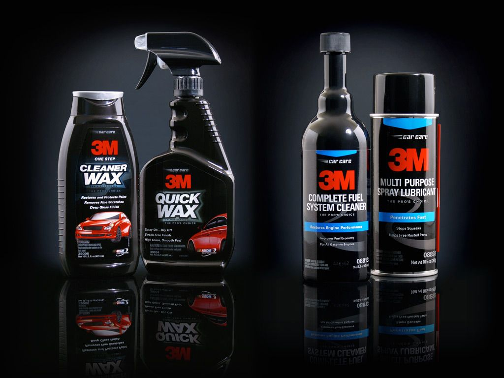 Car Care Products Kendaraan Botol