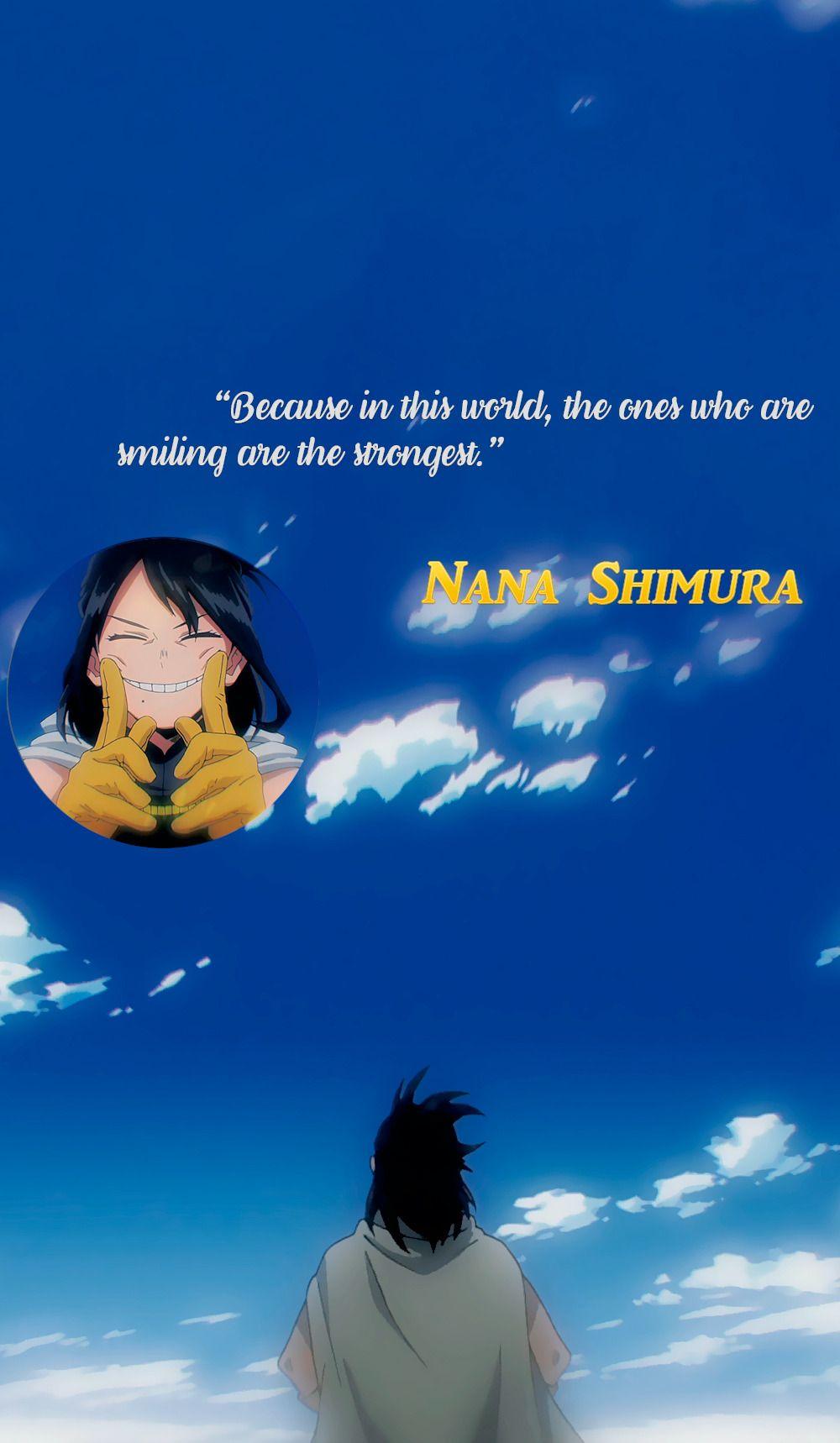 Nana Shimura Wallpaper My Hero Academia Frases Otakus Frases Del Anime