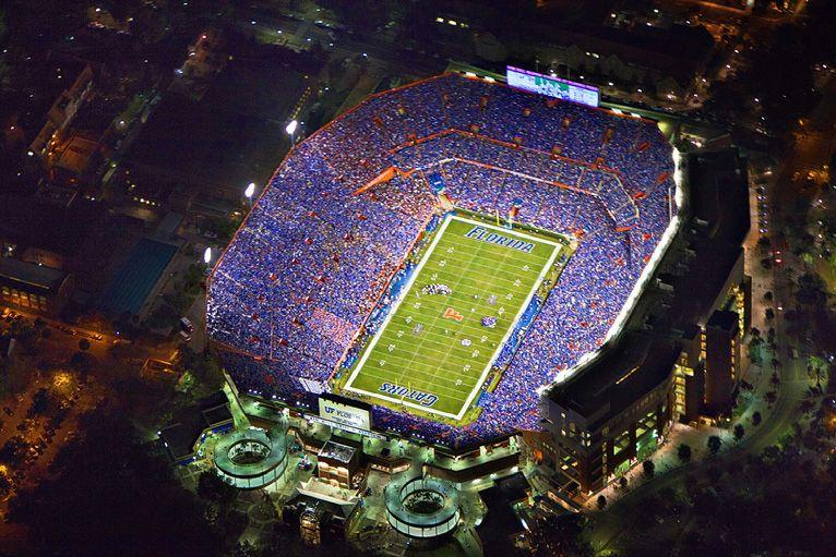 My Hometown Stadium In Titletown Gators Football Gator Nation Florida Gators