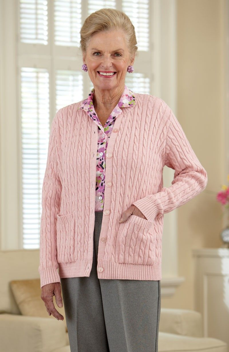 Cotton Cardigan Sweater With Pockets In 2019  Accessible -2296