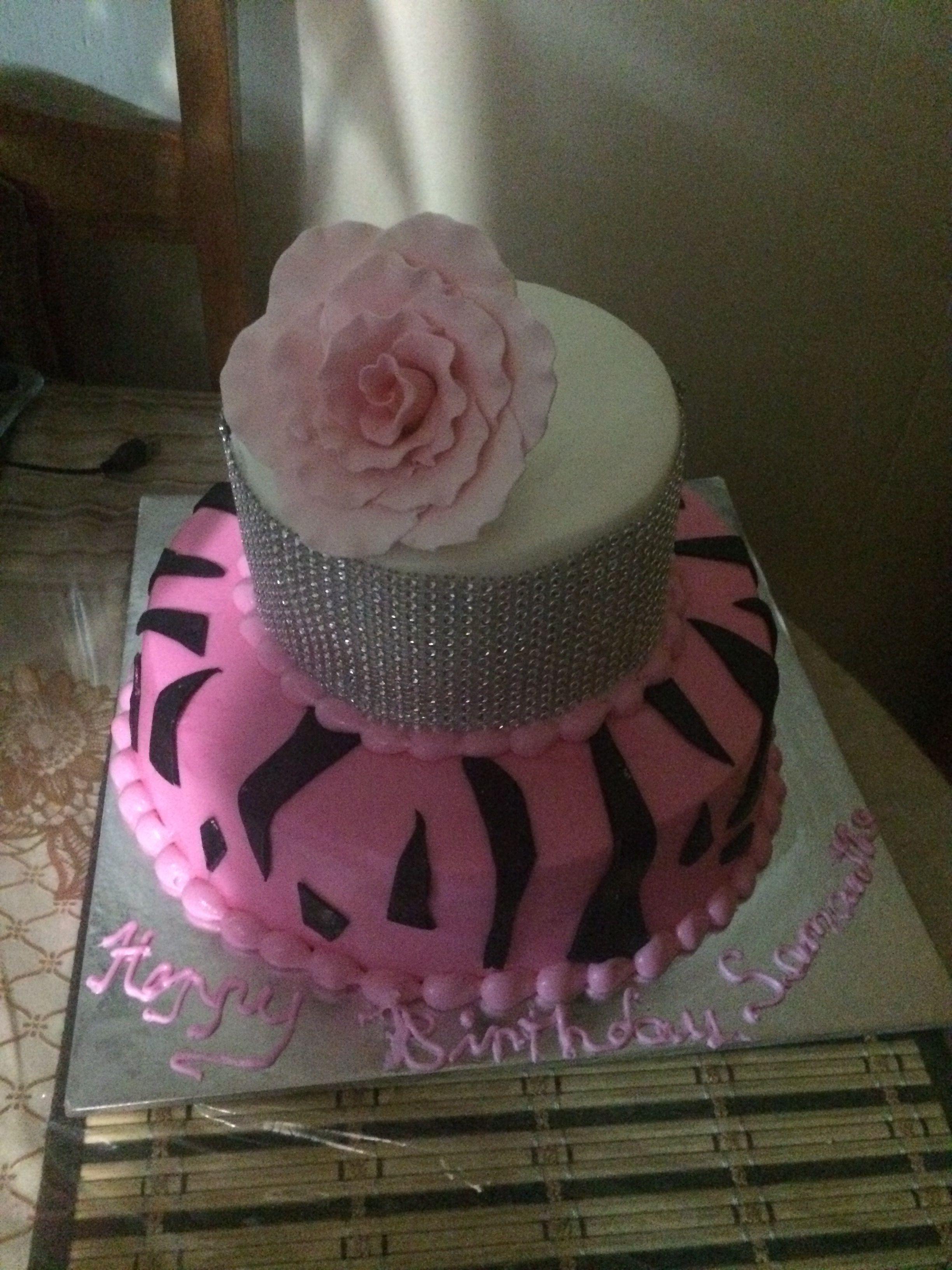 Happy Birthday Diva Cake Sweetariescakesandcupcakes Pinterest