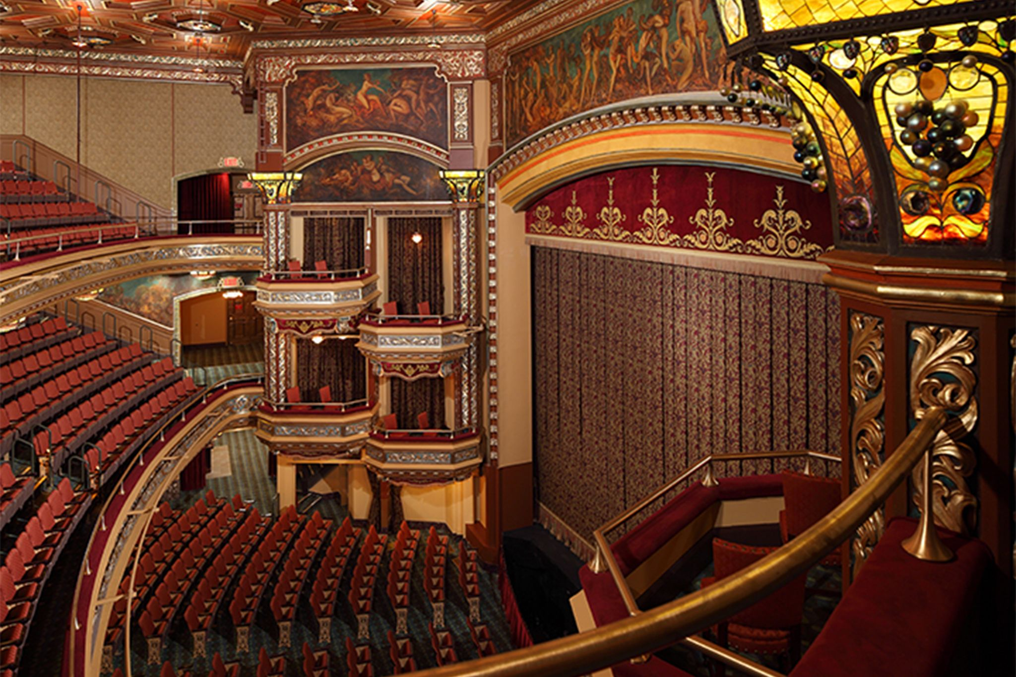 Theater in New York: Belasco Theatre renovation (slide show ...