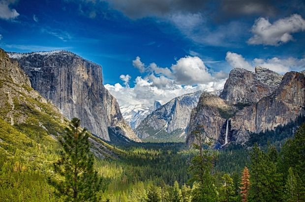 Yosemite Usa Undoubtedly One Of The Better Known Iconic Mountain Landscapes World