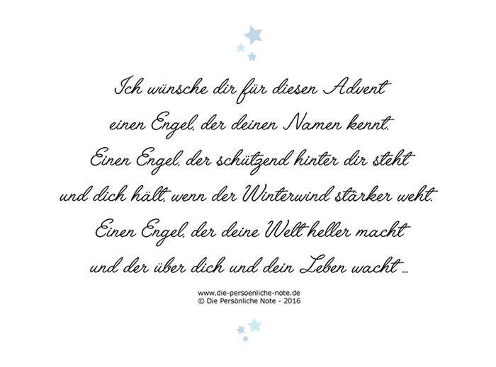 Ich Wunsche Dir Einen Engel Adventsgedicht Geschenktipps Rund Um Den Engel Gedichte Zum Advent Adventsgedichte Spruch Engel Weihnachten