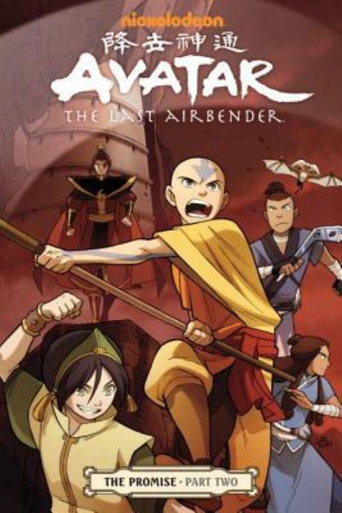Avatar The Last Airbender The Promise Part 2 By Gene Yang Avatar El Ultimo Maestro Aire Avatar La Leyenda De Aang Avatar